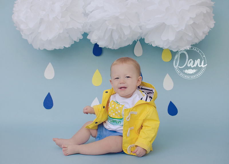 bright yellow raincoat for kids